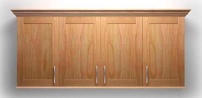 Plywood & Melamine Kitchen Cabinets