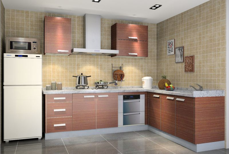 Plywood & Melamine Kitchen Cabinets