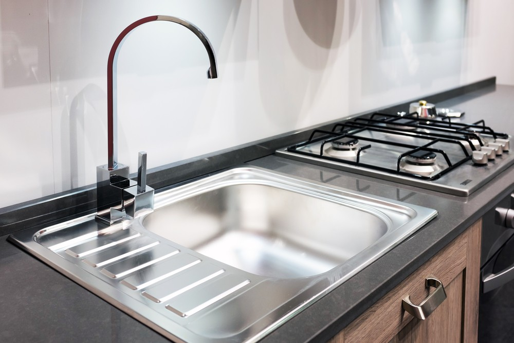 Utah Kitchen Remodel Stainless Steel Sink