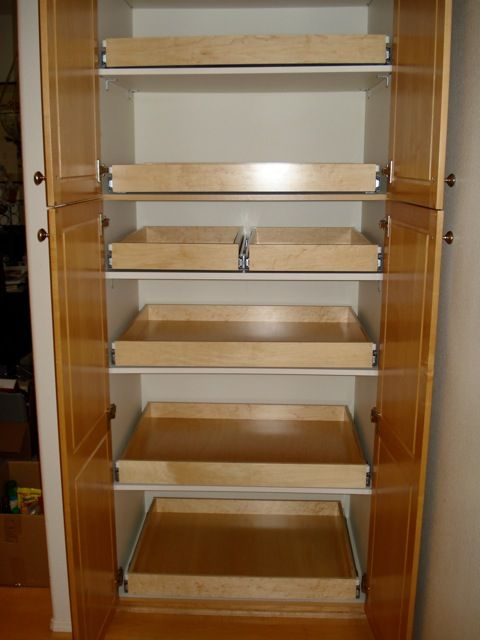 Custom Pantry Installation