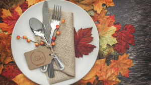 Easy Thanksgiving Decorating